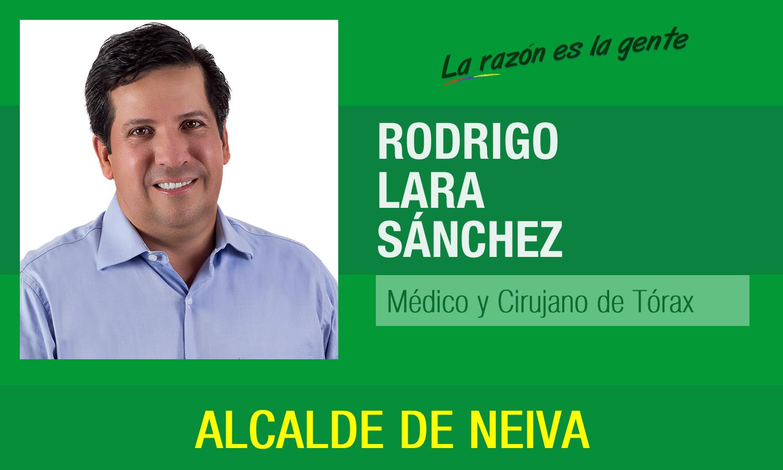 Rodrigo Lara Sanchez presento su gabinete para la Alcaldia de Neiva 1