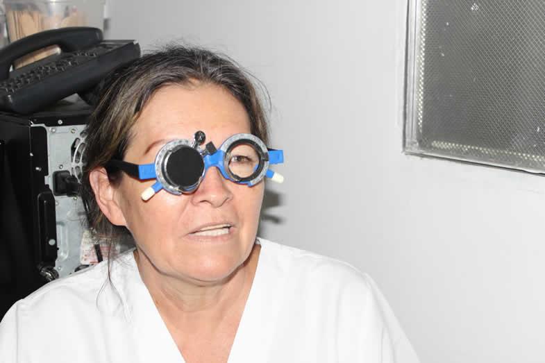 Jornada de optometría ofreció la ESE de Neiva