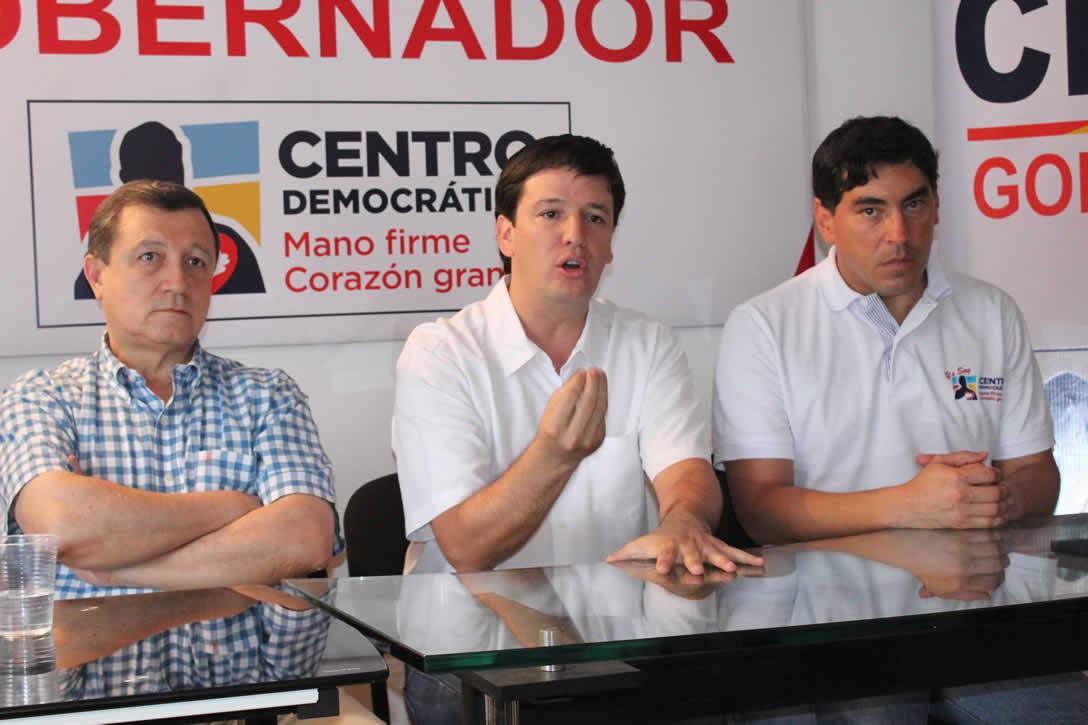 Germán Bahamón con el apoyo del Centro Democrático