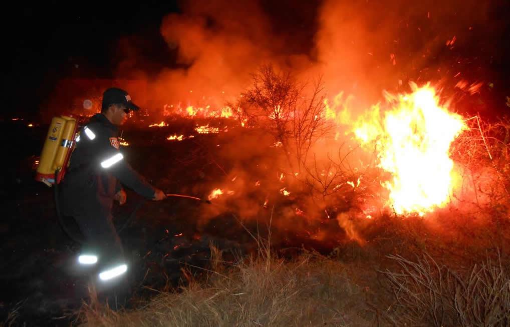 Neiva en alerta roja por incendios forestales