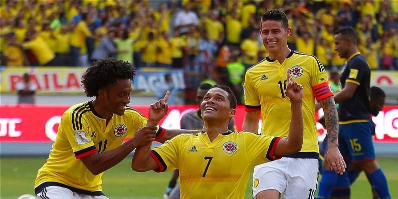 Colombia cierra el año en el top 10 del escalafón Fifa