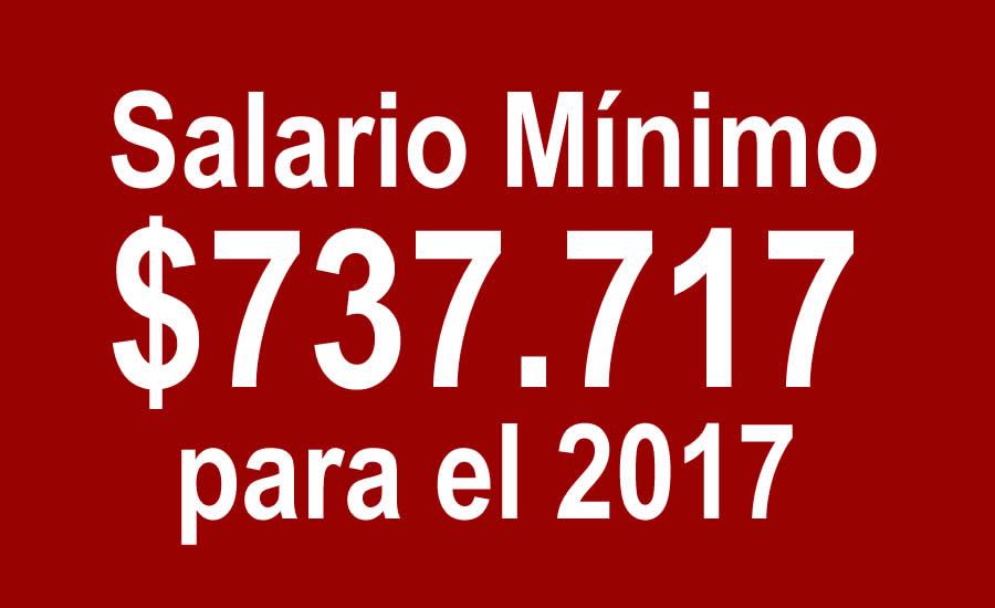 Aumento del salario mínimo fue por decreto y será del 7%