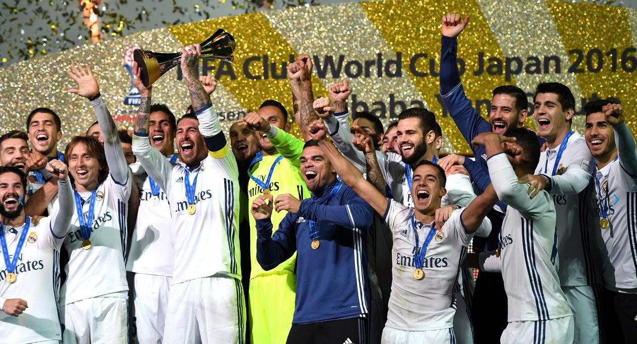 ¡El Real Madrid, campeón del mundo!