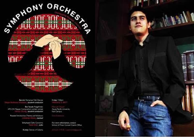 Colombiano dirigirá Orquesta Sinfónica APU en California – EEUU