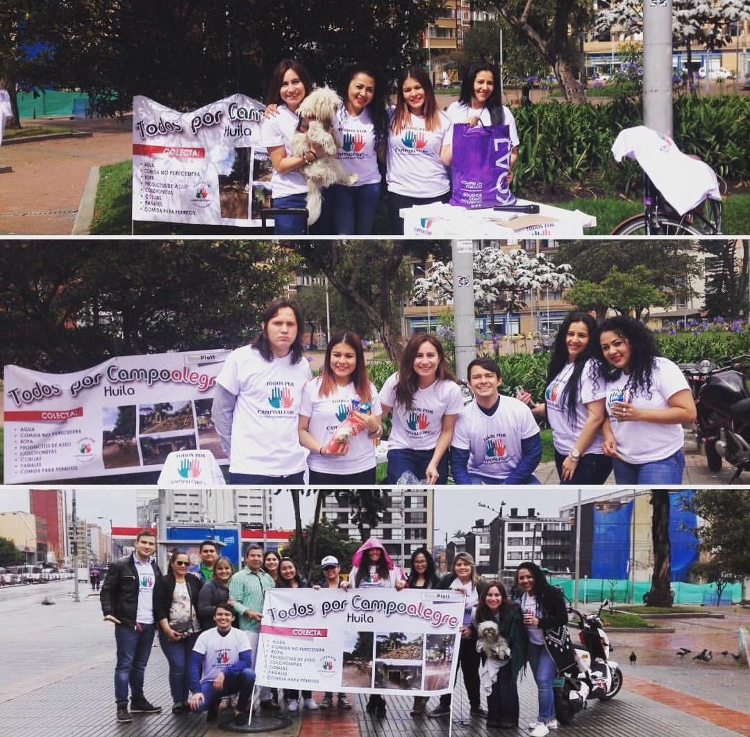Jóvenes trabajan para conseguir donaciones para Campoalegre