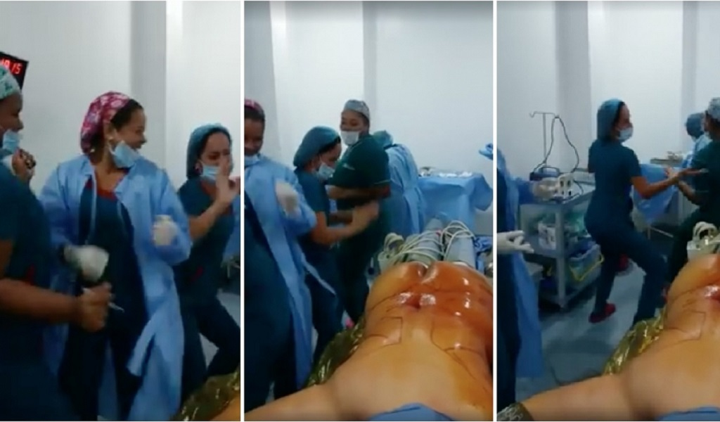Enfermeras que bailan en quirófano en Cartagena fueron despedidas