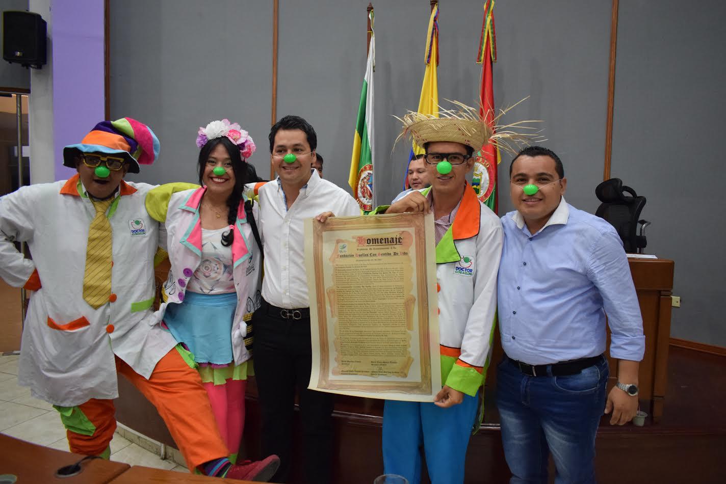 Concejo de Neiva exalta labor social de la Fundación Huellas