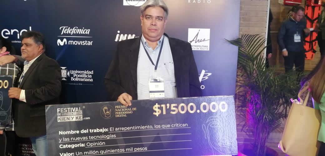 Columnista de TSM Noticias, Segundo Puesto en Premio Nacional de Periodismo Digital