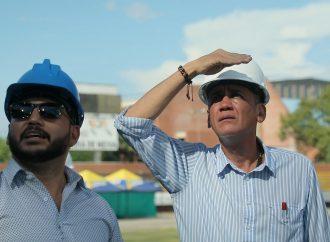 «Triste, pero con la firme convicción de sacar adelante el estadio»: Gorky Muñoz