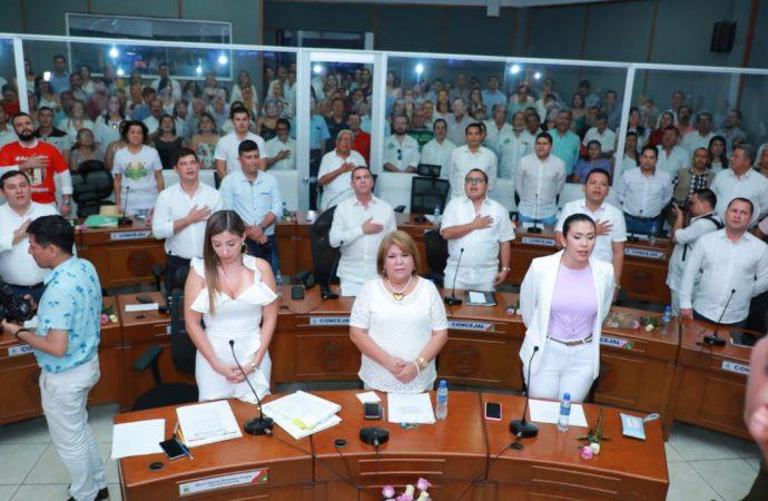 Alcalde Gorky Muñoz, instaló el nuevo Concejo de Neiva