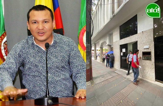 Concejal Deiby Martínez, la ventanilla de atención prioritaria ya existe