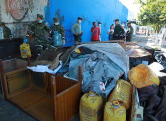 Alcaldía de Neiva, Policía y Ejército, recuperan sector de la Circunvalar