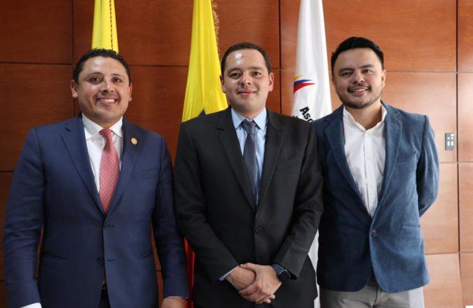 Alcalde de Manizales Carlos Mario Marín Correa, nuevo presidente de Asocapitales