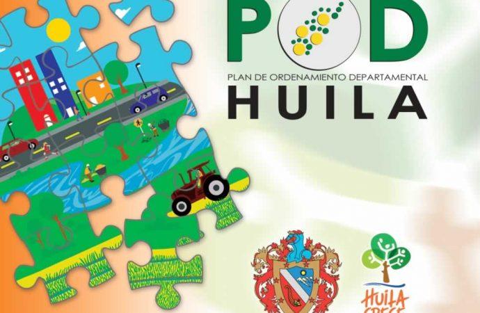 En diciembre el Huila tendrá Plan de Ordenamiento Departamental
