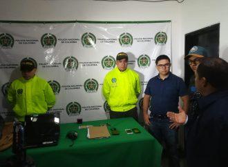 Policía recupera vehículo y otros elementos robados en Pitalito