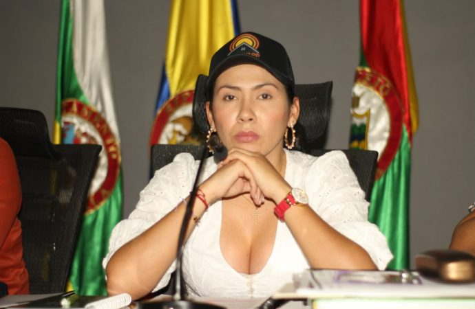 Presidenta del Concejo de Neiva radica denuncia penal