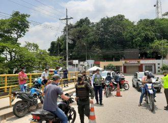 70 comparendos por incumplimiento al Decreto 457 del Gobierno Nacional en el Huila