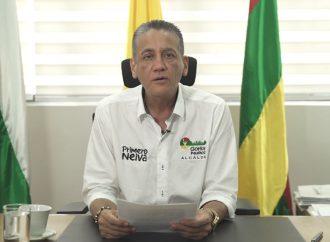 96% de neivanos aprueban gestión del Alcalde durante la emergencia del Covid-19