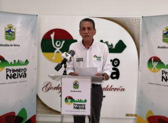 Alcalde de Neiva determinó pico y cédula para abastecimiento en la ciudad