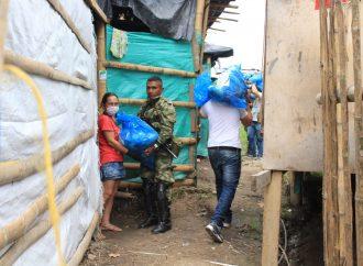 Avanza entrega de Ayudas Humanitarias en Pitalito: la meta son 18 mil hogares