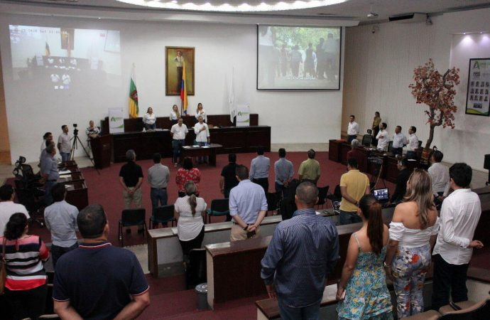 Clausura del Primer Período de Sesiones ordinarias 2020 Asamblea del Huila