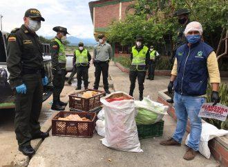 Decomisados  255 kilos de pescado seco en mal estado, en Neiva