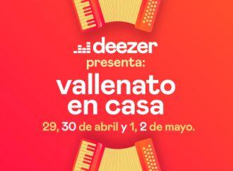 Deezer presenta 'Vallenato en Casa', conciertos desde tu propia sala