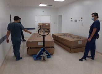 Gobierno del Huila inició entrega de dotación a Hospitales para atención del COVID-19