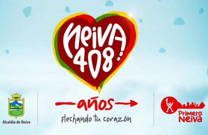 Neiva celebra 408 años de Fundación