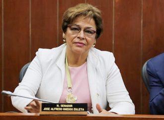 Senadora Esperanza Andrade, anuncia prisión perpetua para feminicidios