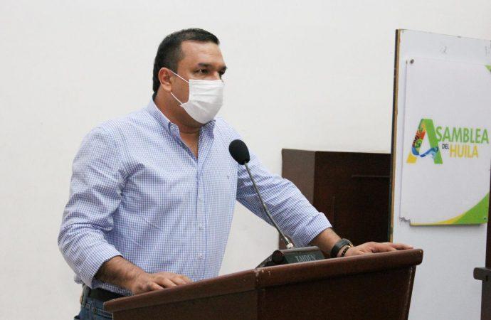 Conservador Camilo Ospina, será el presidente de la Asamblea del Huila 2021