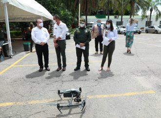 Drone con reconocimiento facial, tendrá Neiva para hacerle frente a la inseguridad