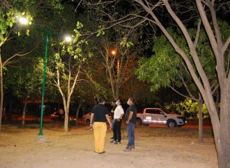Con iluminación, Alcaldía de Neiva sigue recuperando zonas en la ciudad