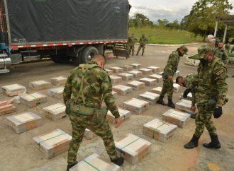 Ejército incautada 1.3 toneladas de Marihuana Cripy en el Huila