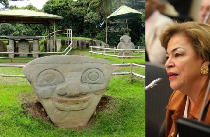 Senadora Andrade pide reabrir parques arqueológicos en el Huila