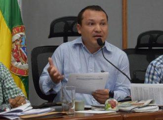 Deiby Martínez fue elegido nuevo presidente del Concejo de Neiva