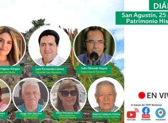 Diálogo   San Agustín, 25 años de Patrimonio Histórico