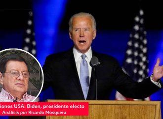 Elecciones USA: Biden, presidente electo