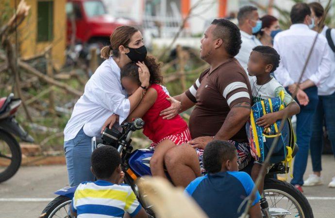 Han evacuado desde Providencia más de 300 niños y niñas para reencontrarse con sus familias en San Andrés