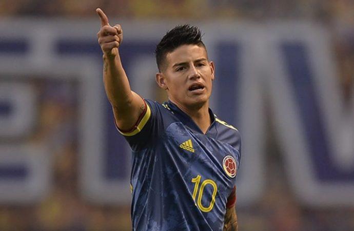 James Rodríguez desmiente pelea entre jugadores de la Selección Colombia