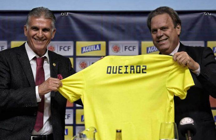 Se va Carlos Queiroz de la Selección Colombia