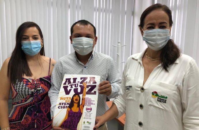 Concejo de Neiva se une a la campaña 'Alza tu voz primero las mujeres'