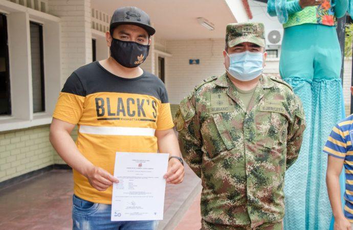 Abierta convocatoria para otorgar libreta militar a personas con discapacidad