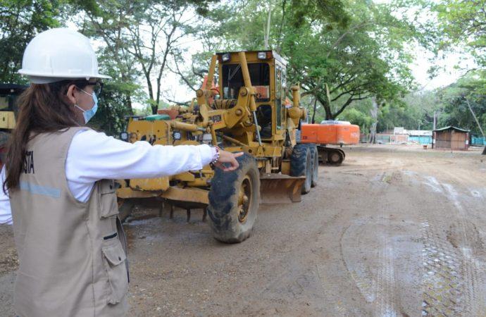 Gobierno del Huila reactivó las obras del Malecón del Río Magdalena y salvó sus zonas verdes