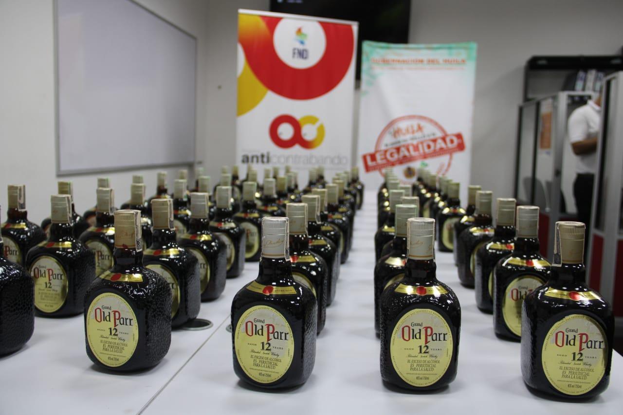 Incautan 72 botellas de Whisky de contrabando en el Huila - TSMNoticias.com