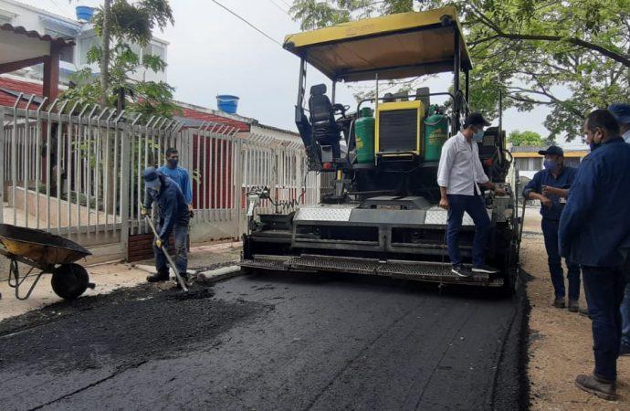 Se invirtieron $250 millones en pavimentación de vía alterna a Avenida Buganviles, al oriente de Neiva