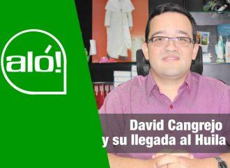 Aló: David Cangrejo y su llegada al Huila