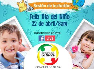 Niños con necesidades educativas especiales, serán concejales por un día en Neiva