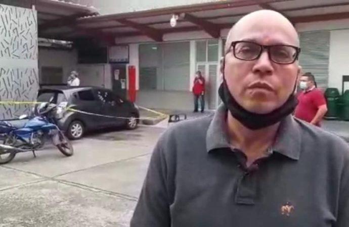 Atentado contra propietario de la emisora Alfa Estéreo, William Gutiérrez, deja un escolta muerto