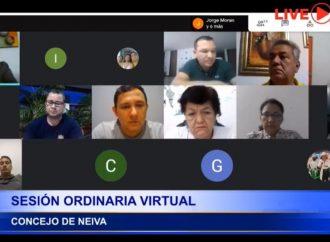 Concejo de Neiva regresa a la virtualidad